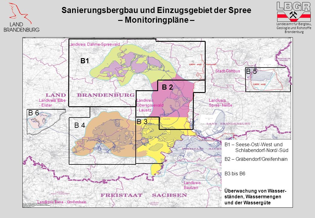 Landkreis Kamenz Landkreis Bautzen Landkreis Riesa - Großenhain Landkreis Elbe - Elster Landkreis Spree- Neiße Landkreis Dahme-Spreewald Landkreis Obe