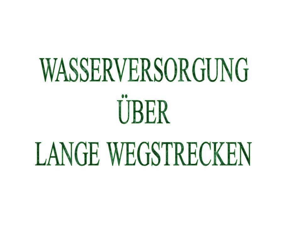 WASSERVERSORGUNGSPLAN LEGENDE Bezeichnung des Objektes/Geländeteiles Entfernung Höhenunterschied Anzahl der TS