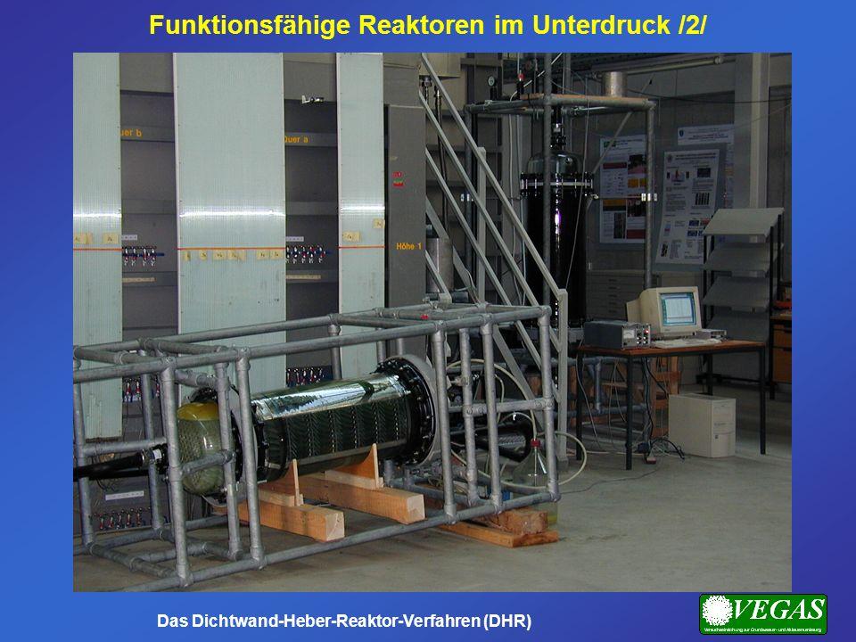 Funktionsfähige Reaktoren im Unterdruck /2/ Das Dichtwand-Heber-Reaktor-Verfahren (DHR)