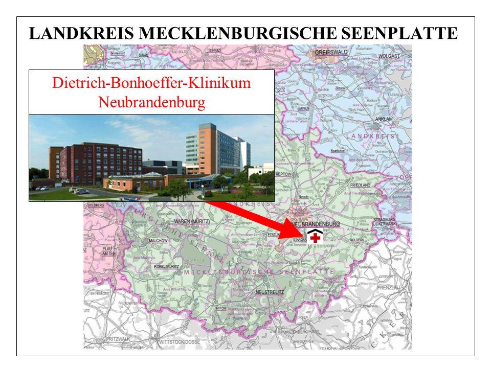 LANDKREIS MECKLENBURGISCHE SEENPLATTE Dietrich-Bonhoeffer-Klinikum Neubrandenburg