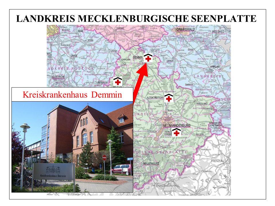 LANDKREIS MECKLENBURGISCHE SEENPLATTE Kreiskrankenhaus Demmin