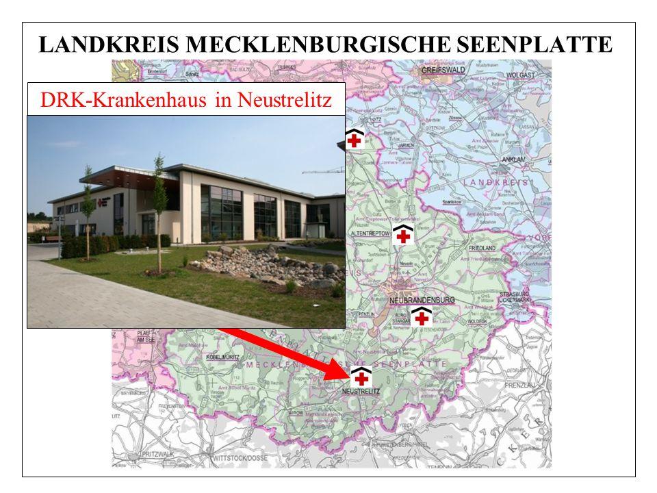 LANDKREIS MECKLENBURGISCHE SEENPLATTE DRK-Krankenhaus in Neustrelitz