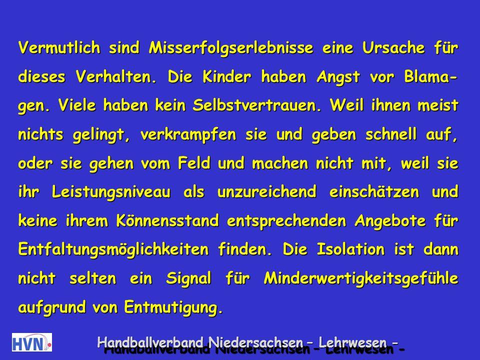 Handballverband Niedersachsen – Lehrwesen - 18.
