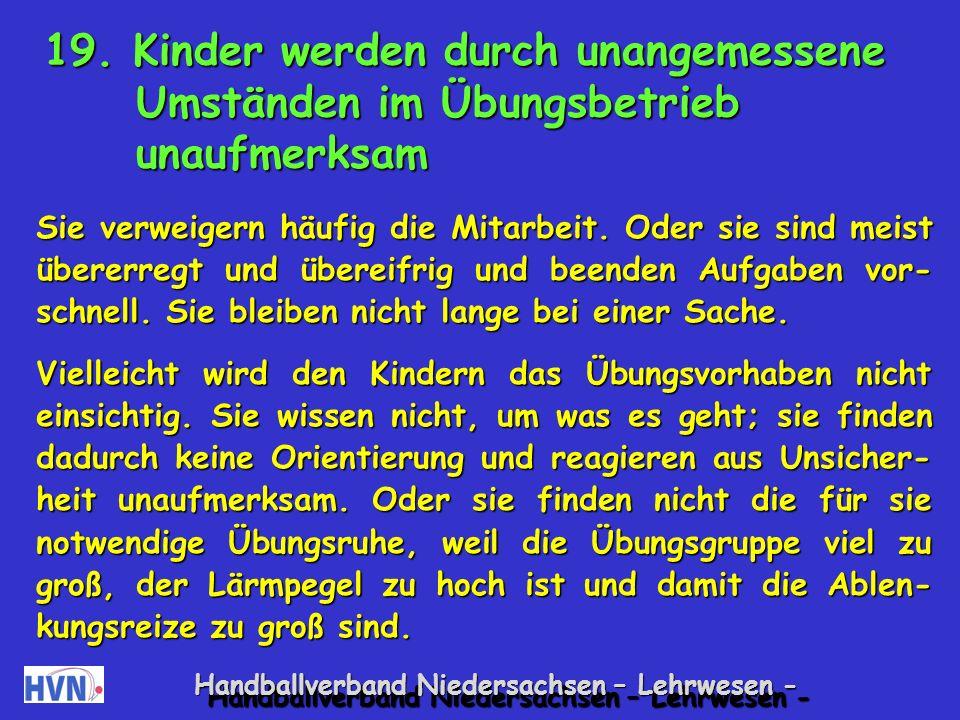 Handballverband Niedersachsen – Lehrwesen - Hüpferlebnis Es werden verschiedene Hüpfstationen mit Absperr- band und Klebeband oder Seilchen aufgebaut, die jedem Kind einen Erfolg garantieren.