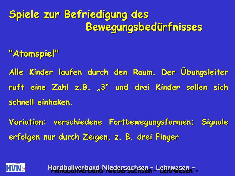 Handballverband Niedersachsen – Lehrwesen - 19.