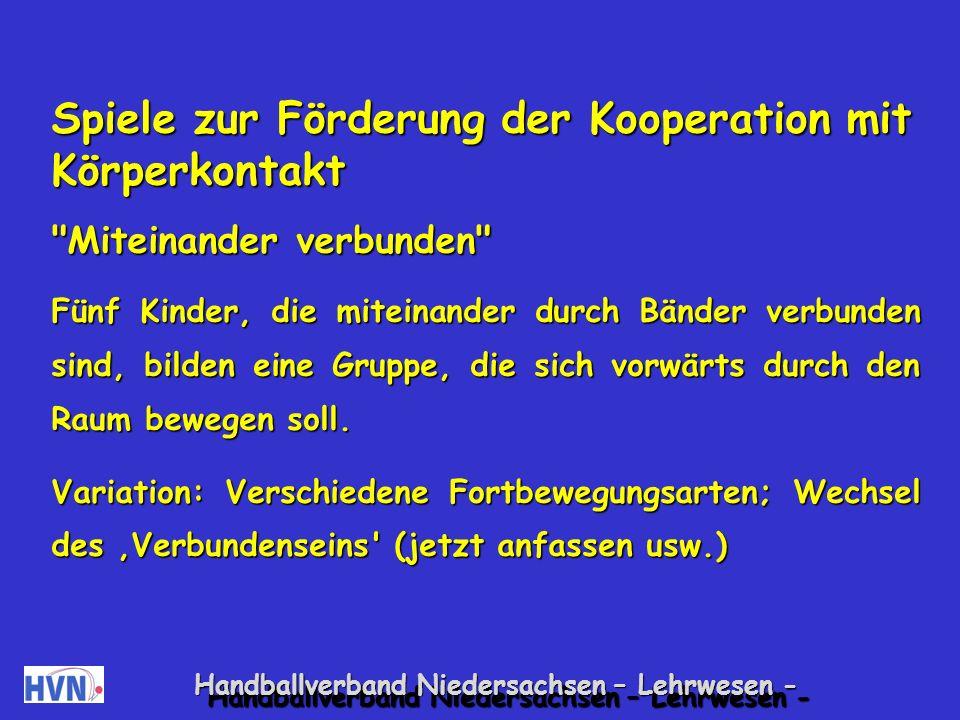 Handballverband Niedersachsen – Lehrwesen - 20.