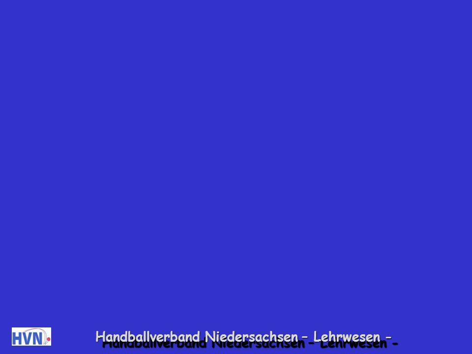Handballverband Niedersachsen – Lehrwesen -