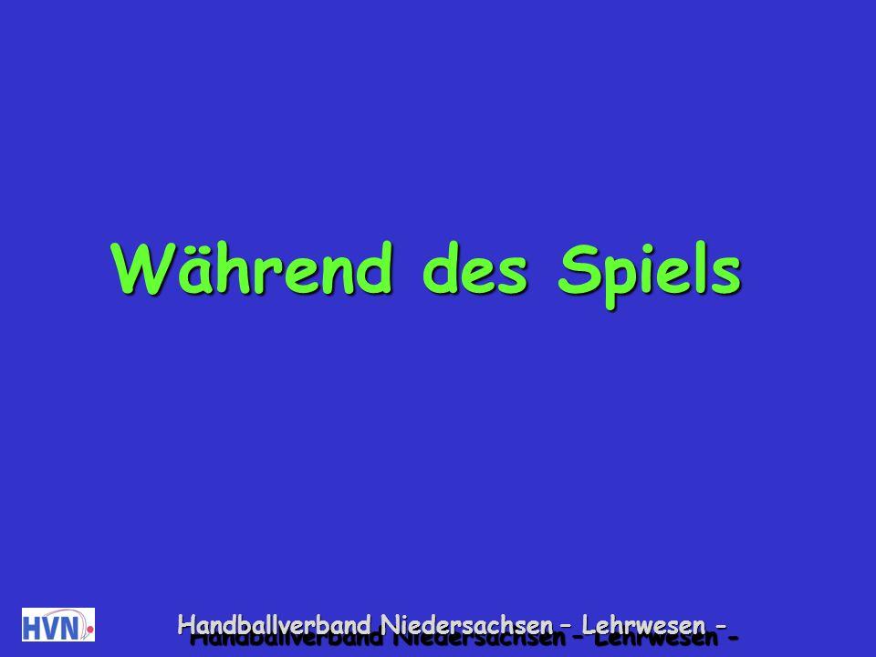 Handballverband Niedersachsen – Lehrwesen - Kein systematisches Aufwärmen Die Kinder beschäftigen sich mit dem Ball (Prellen, Zuspielen, Werfen).