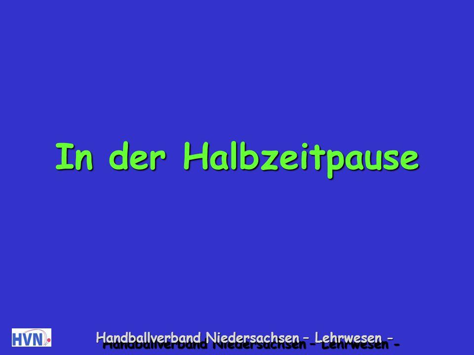 Handballverband Niedersachsen – Lehrwesen - Pädagogisch pfeifen.