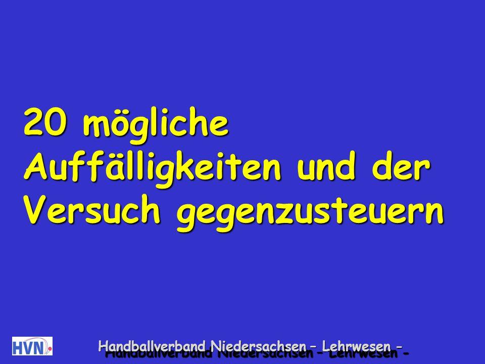 Handballverband Niedersachsen – Lehrwesen - Was also tun, wenn sie in das Spiel hineinrufen, ihr Kind anfeuern oder verunsichern, wenn sie es bei einem Torerfolg bejubeln oder bei einem Fehler tadeln.