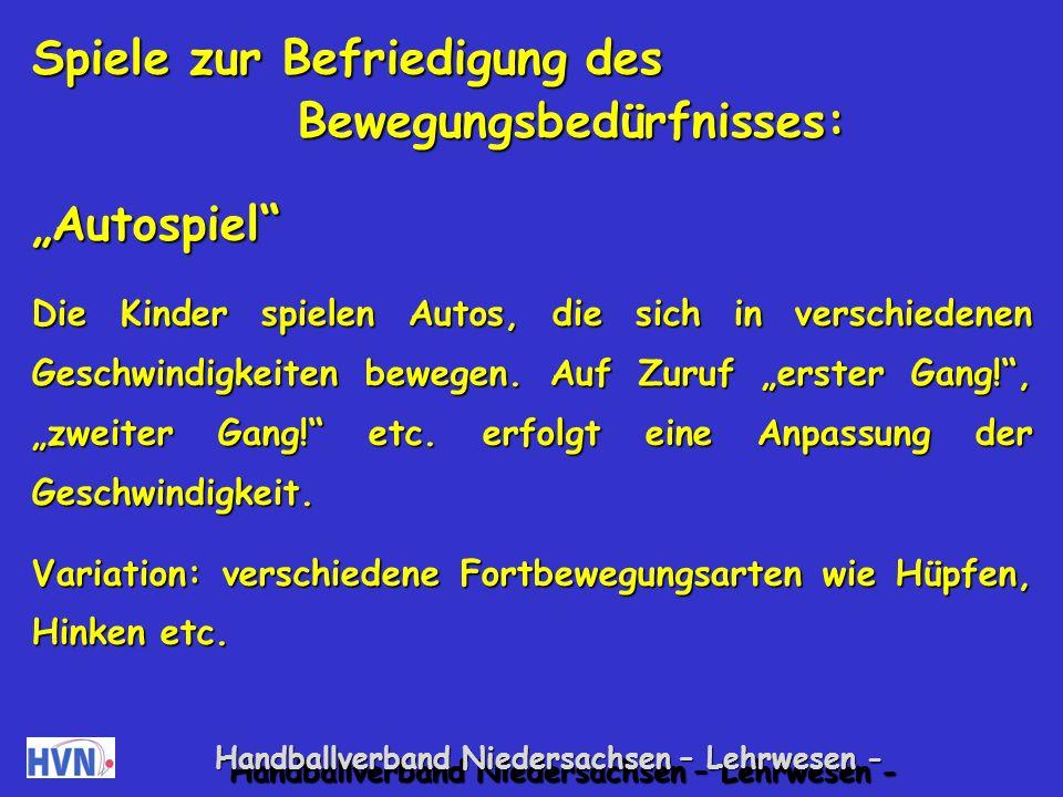 Handballverband Niedersachsen – Lehrwesen - 1.