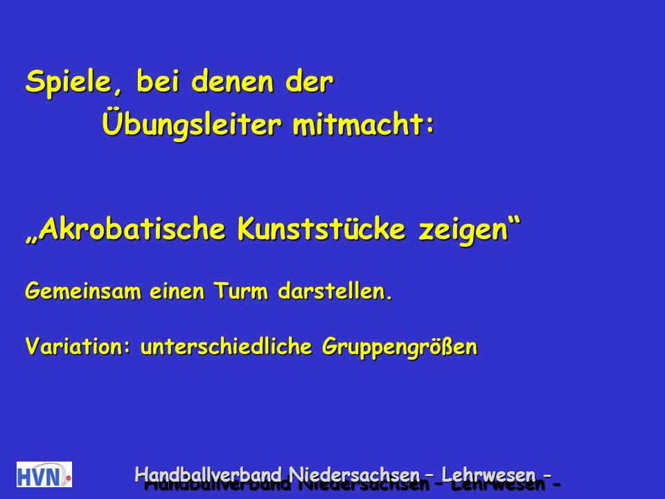Handballverband Niedersachsen – Lehrwesen - Sie reagieren auf Zurechtweisungen mit lautem Schrei- en, Wutausbrüchen, die bisweilen durch Fußstampfen unterstützt werden.