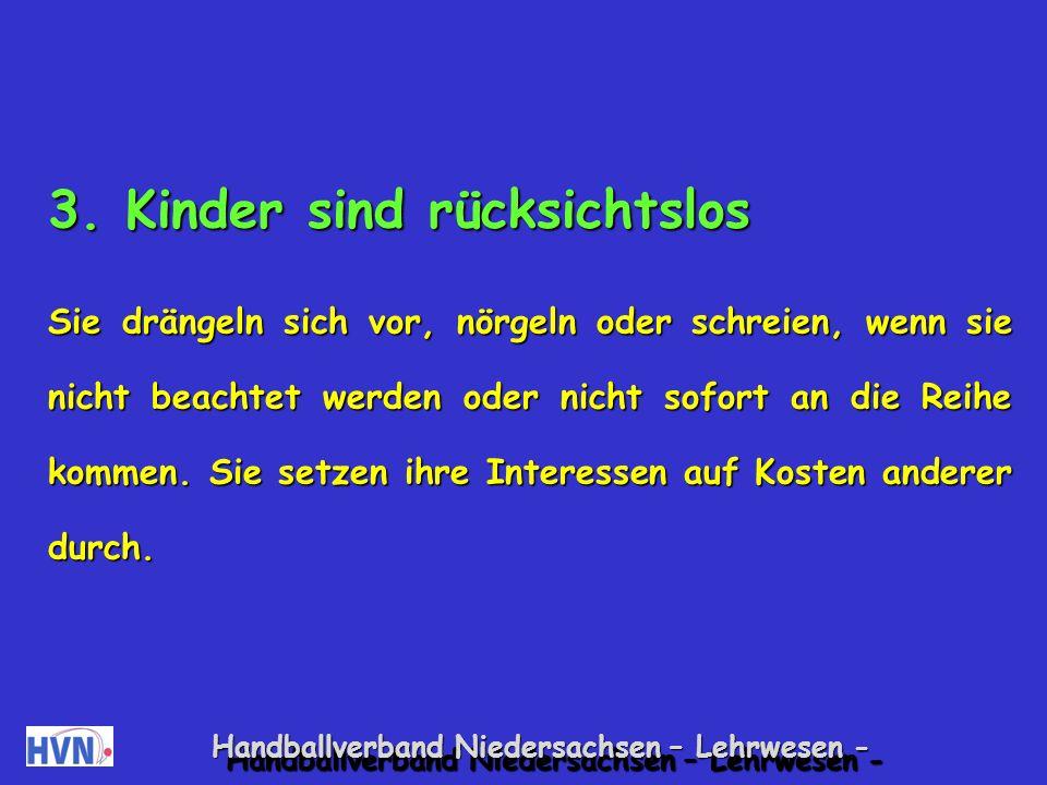 Handballverband Niedersachsen – Lehrwesen - Spiele zur Förderung der Selbstsicherheit durch Zeigen von Stärken Ich kann Kreisaufstellung.