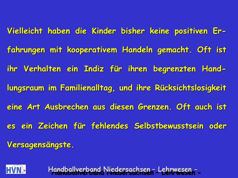 Handballverband Niedersachsen – Lehrwesen - 3.