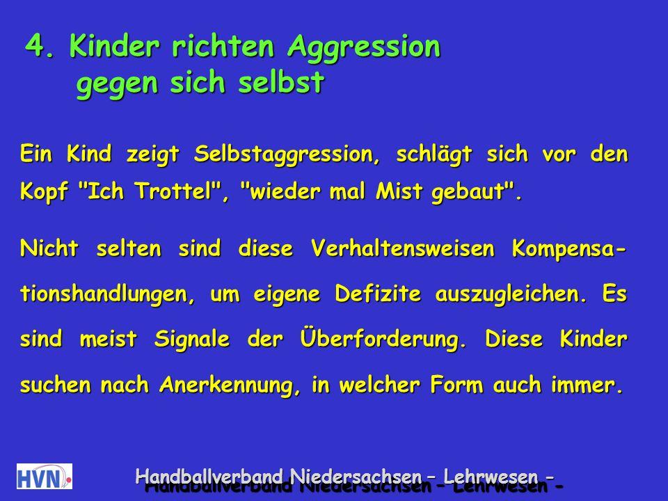 Handballverband Niedersachsen – Lehrwesen - Sensibilisierungsspiele: Augenschließen Paare bilden.