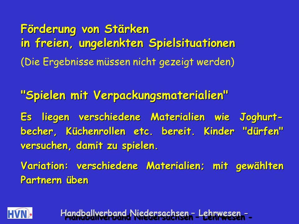 Handballverband Niedersachsen – Lehrwesen - 6.