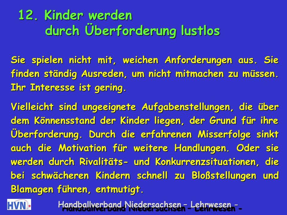 Handballverband Niedersachsen – Lehrwesen - Geräuschen folgen Partnerweise: Kinder verabreden ein Geräusch wie Klatschen.
