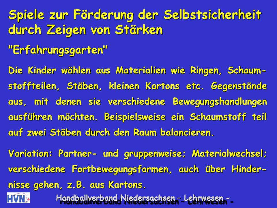 Handballverband Niedersachsen – Lehrwesen - 12.