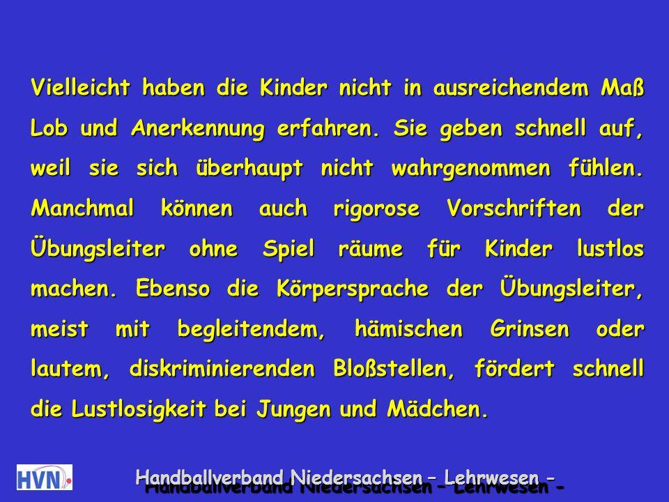 Handballverband Niedersachsen – Lehrwesen - 14.