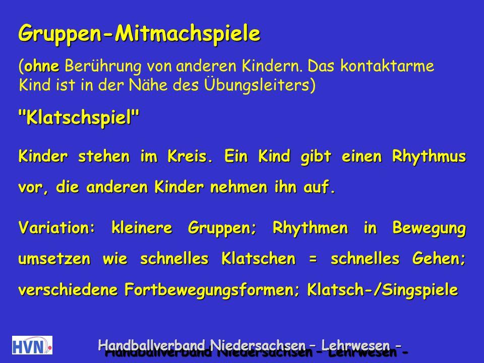 Handballverband Niedersachsen – Lehrwesen - 15.