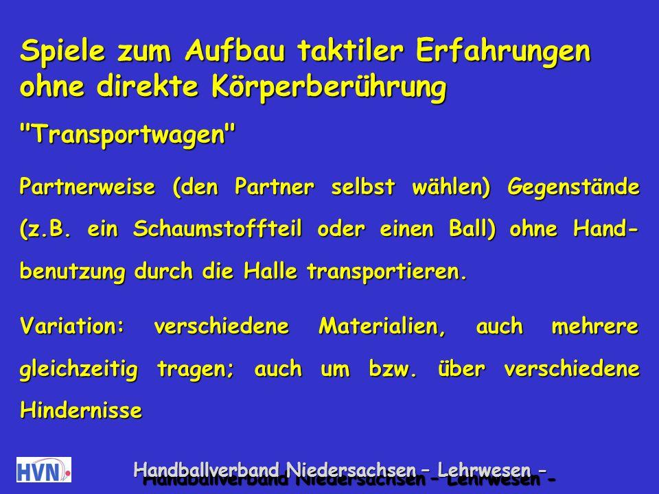 Handballverband Niedersachsen – Lehrwesen - 16.