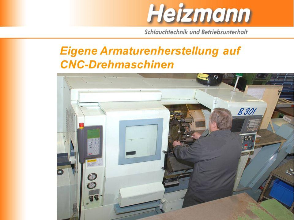 Eigene Armaturenherstellung auf CNC-Drehmaschinen