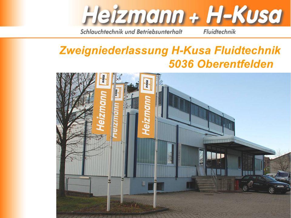 Zweigniederlassung H-Kusa Fluidtechnik 5036 Oberentfelden