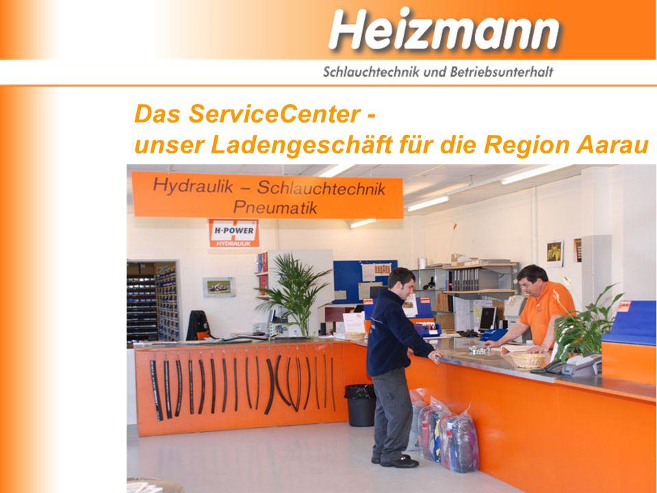 Das ServiceCenter - unser Ladengeschäft für die Region Aarau