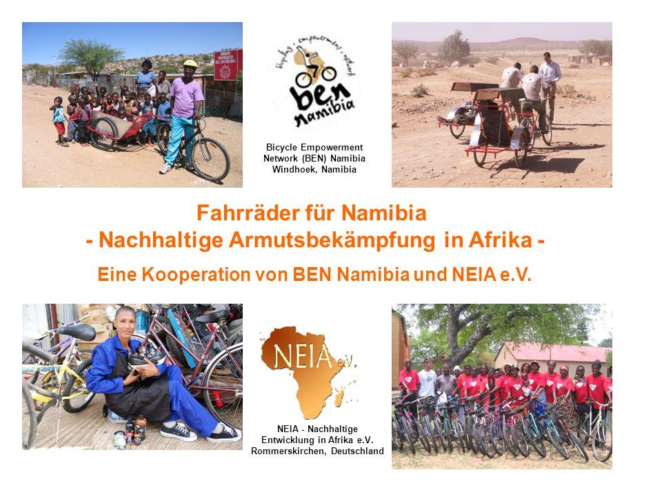 NEIA- Nachhaltige Entwicklung in Afrika e.V.(www.neia-ev.org) Vereinsregistereintrag am 6.