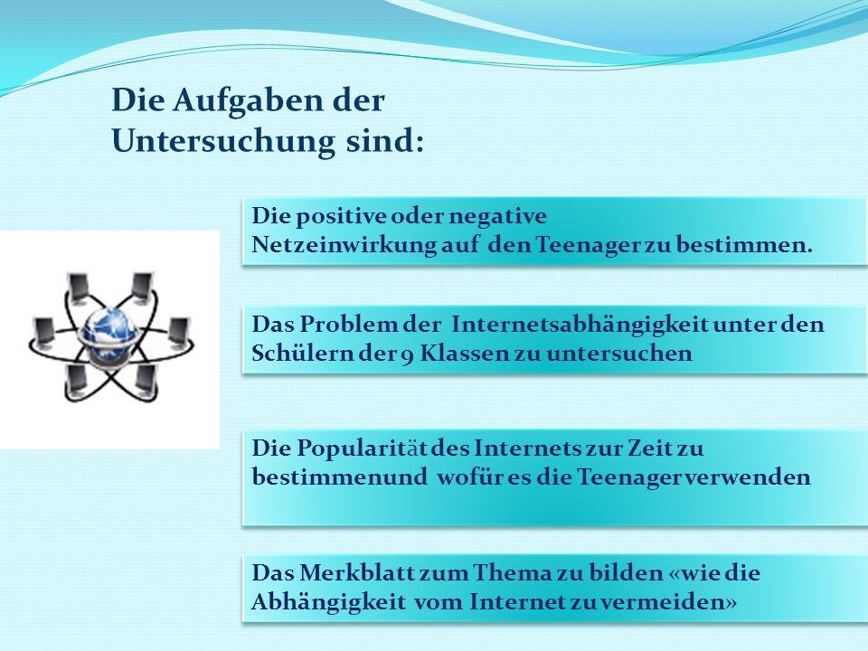 Die positive oder negative Netzeinwirkung auf den Teenager zu bestimmen. Die positive oder negative Netzeinwirkung auf den Teenager zu bestimmen. Das