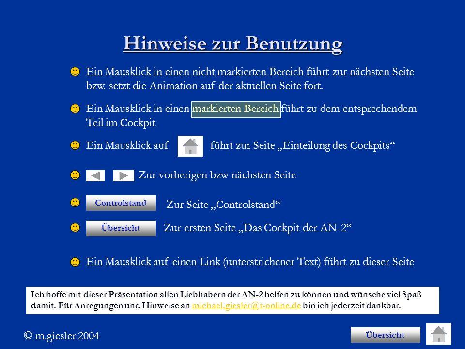 Hinweise zur Benutzung Ein Mausklick in einen nicht markierten Bereich führt zur nächsten Seite bzw. setzt die Animation auf der aktuellen Seite fort.