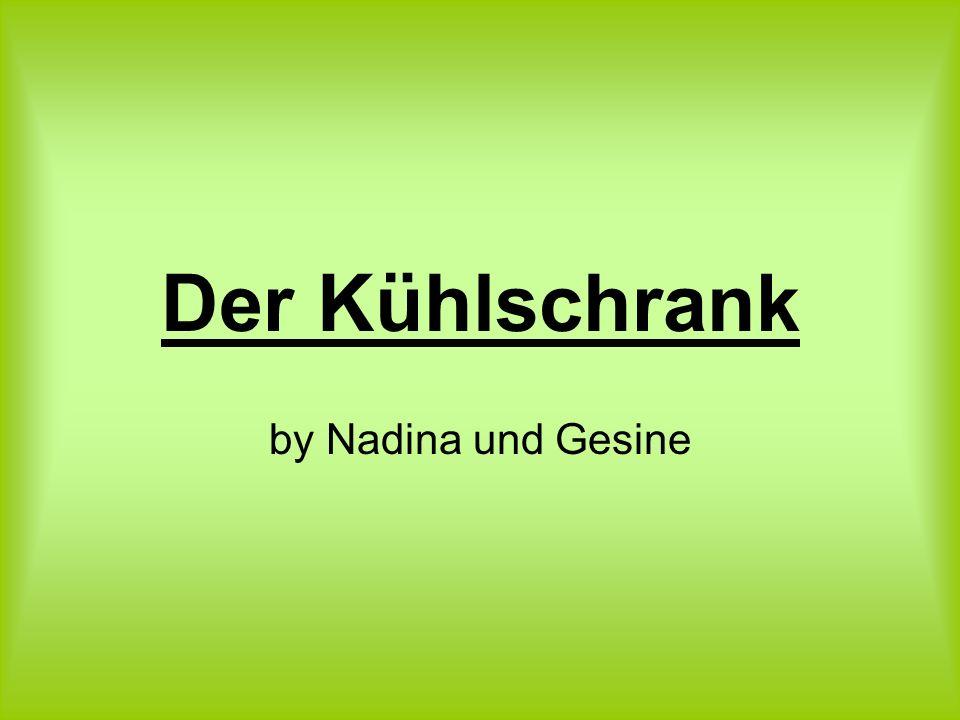 Der Kühlschrank by Nadina und Gesine