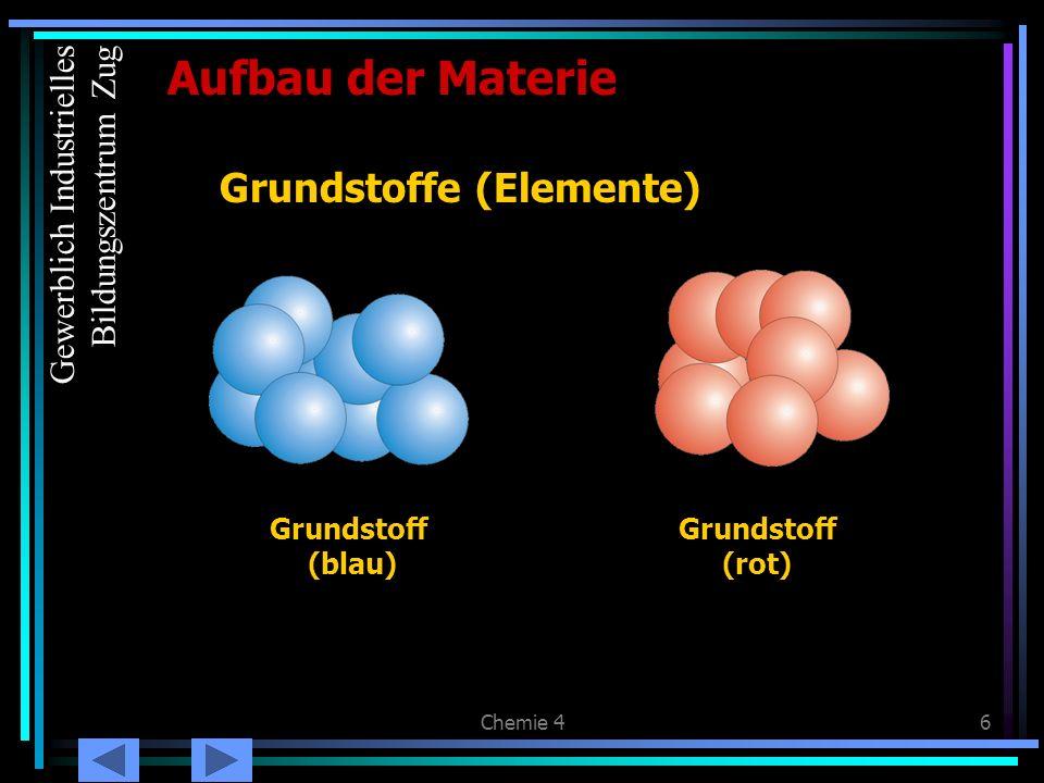 Chemie 417 Begriffe: Protonen, Neutronen und Elektronen bezeichnet man als Elementarteilchen.