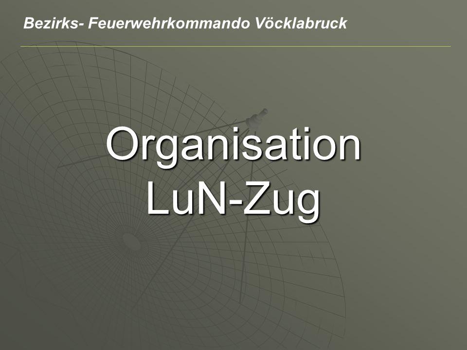 Organisation LuN-Zug Bezirks- Feuerwehrkommando Vöcklabruck