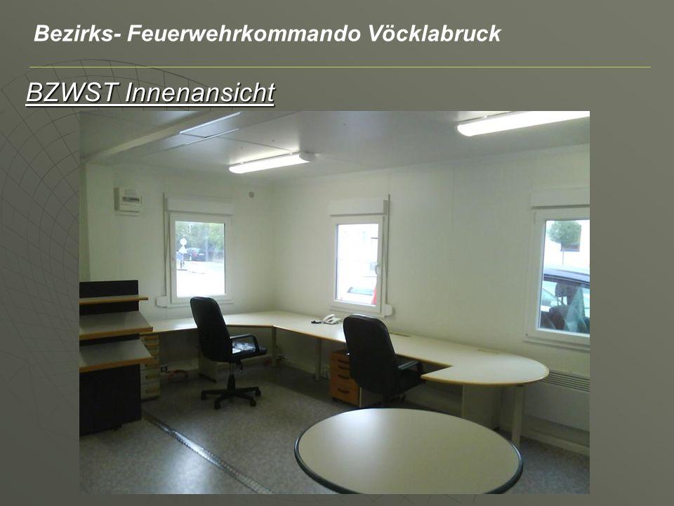 BZWST Innenansicht Bezirks- Feuerwehrkommando Vöcklabruck