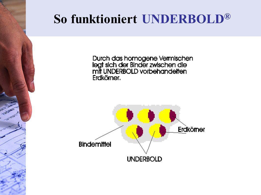 4. Verdichten So funktioniert UNDERBOLD ®