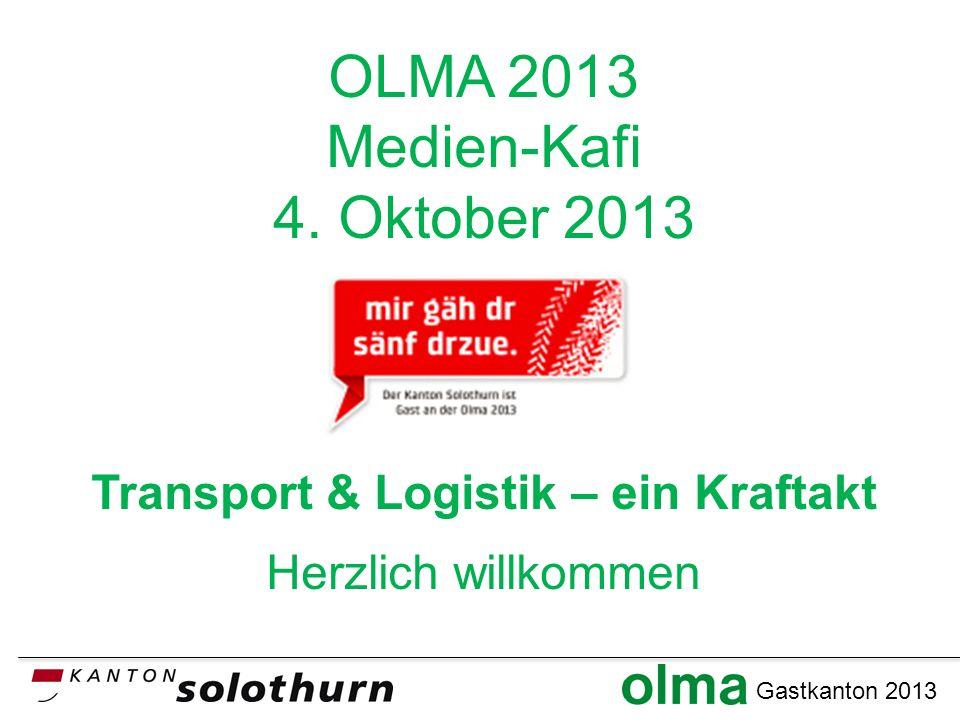 Gastkanton 2013 OLMA 2013 Medien-Kafi 4.