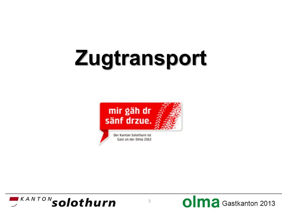 Gastkanton 2013 Zugtransport 3