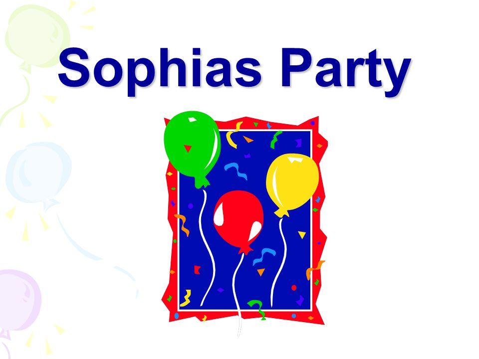 Hallo Sophia. Alles Gute zum Geburtstag. Hier ist ein Geschenk. Oh, danke. Was ist das?