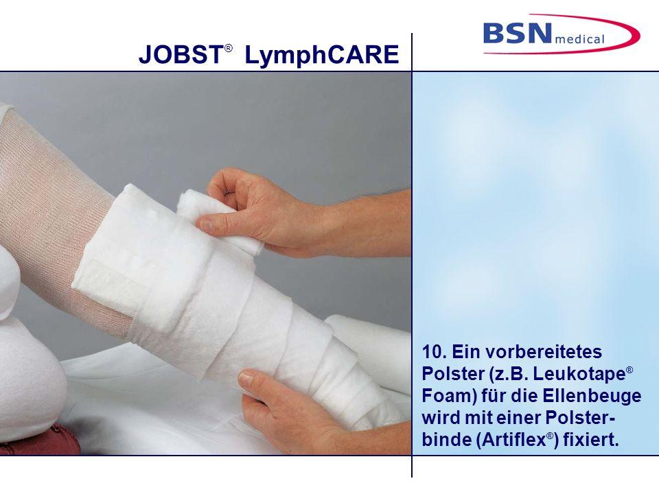 JOBST ® LymphCARE 10.Ein vorbereitetes Polster (z.B.
