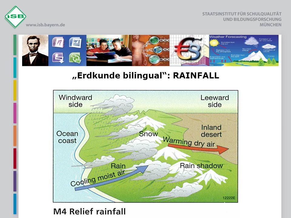 Erdkunde bilingual: RAINFALL