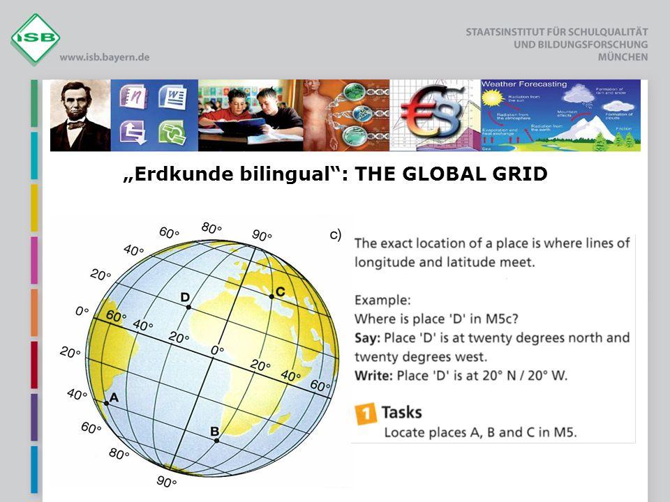 Erdkunde bilingual: THE GLOBAL GRID
