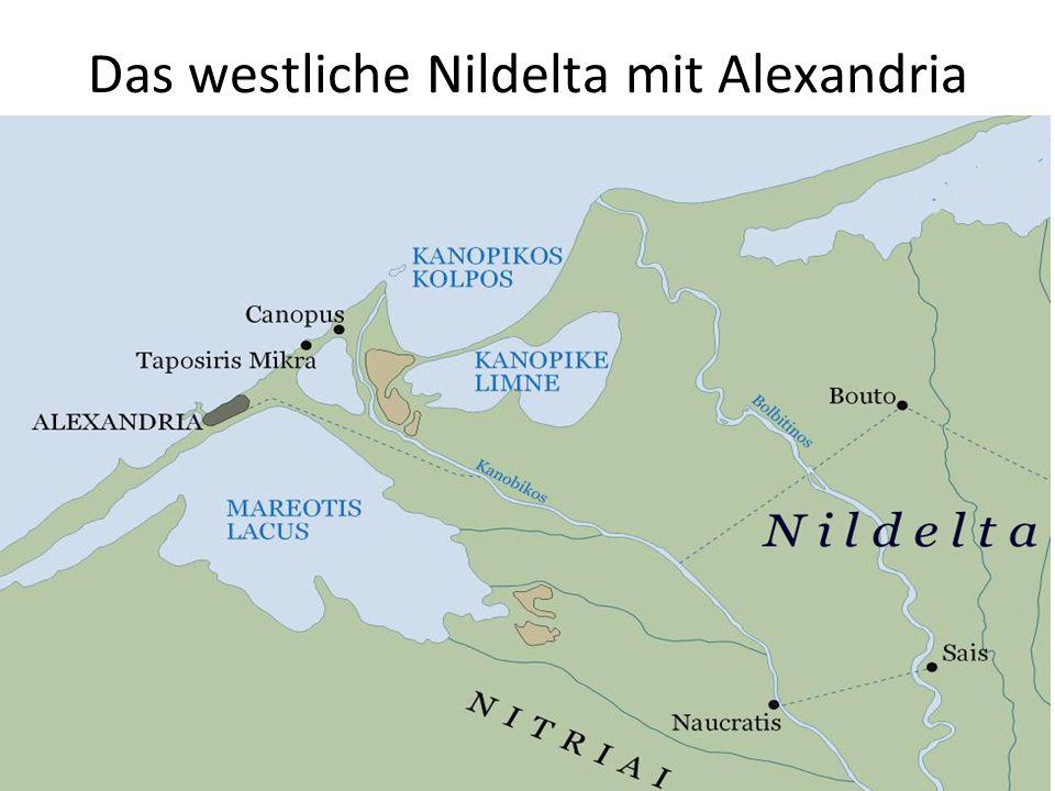 Das westliche Nildelta mit Alexandria