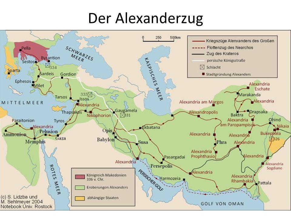 Alexander als Begründer des Hellenismus Massenhochzeit von Susa Erhaltene Quellen: Curtius Rufus, Arrian Fragmentarisch erhaltene Quellen