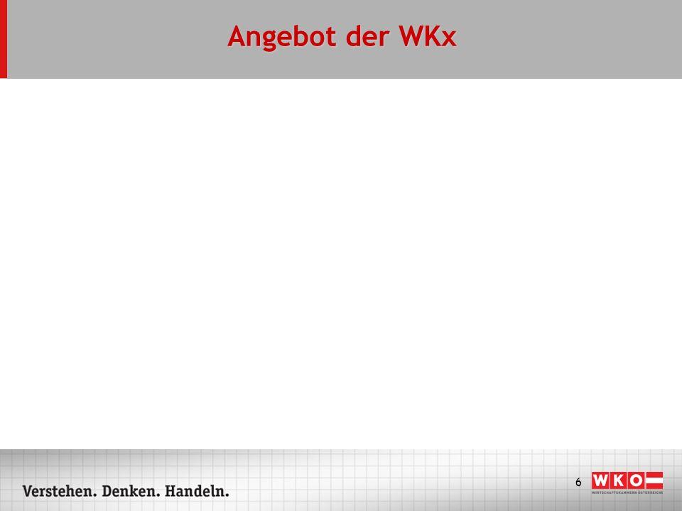 6 Angebot der WKx