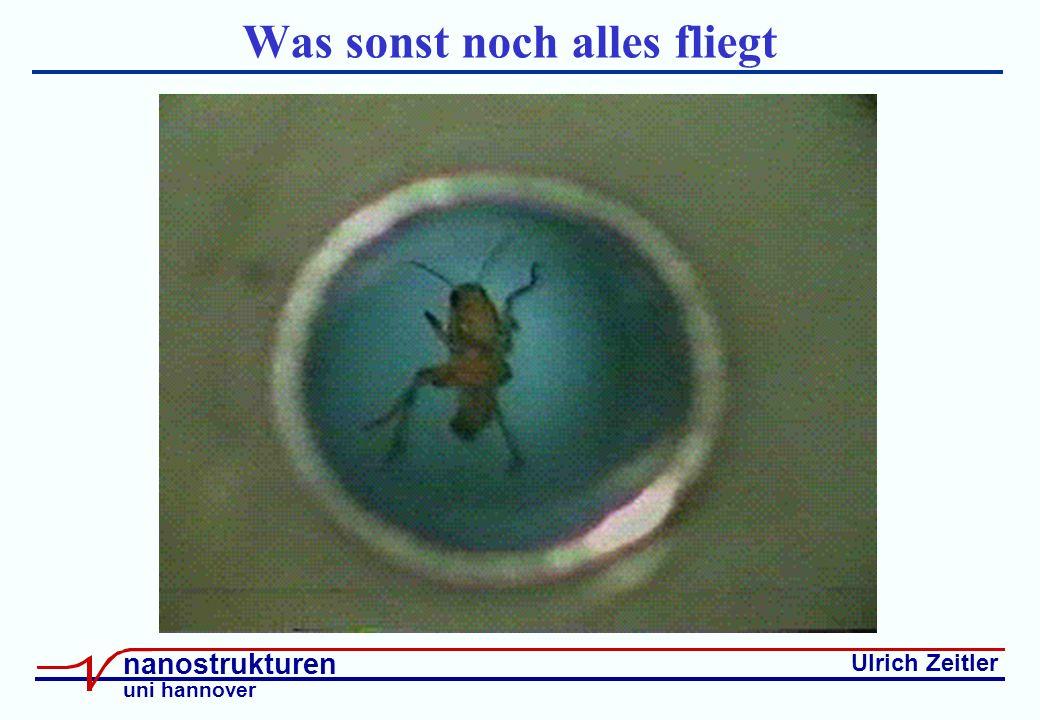 Ulrich Zeitler nanostrukturen uni hannover Was sonst noch alles fliegt