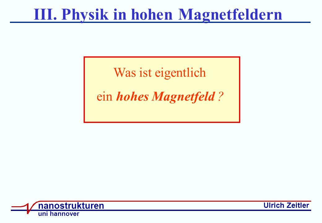 Ulrich Zeitler nanostrukturen uni hannover III.