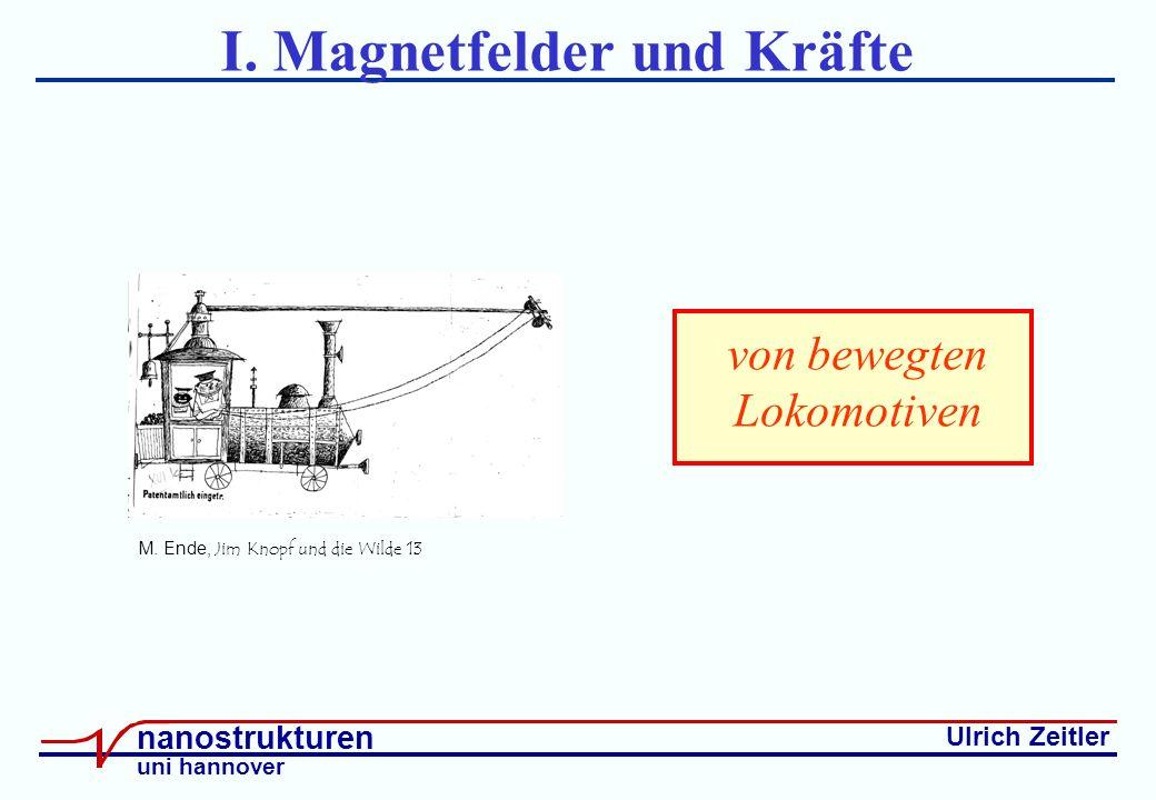 Ulrich Zeitler nanostrukturen uni hannover I. Magnetfelder und Kräfte M.