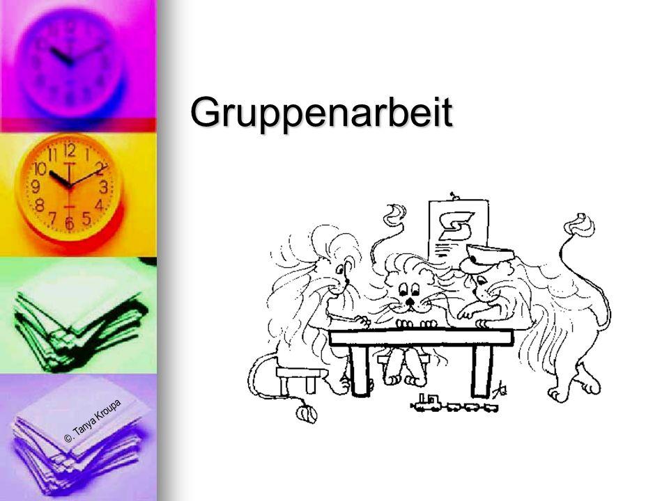 Gruppenarbeit
