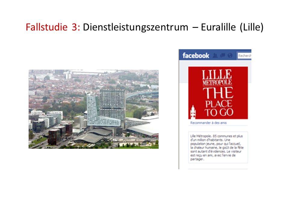 Fallstudie 3: Dienstleistungszentrum – Euralille (Lille)
